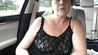sexy milf topless care drive dare