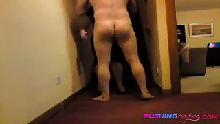 mommy loves fucking son on stairs!